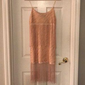 H&M fringe Mini Dress